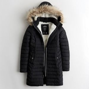 Brand new with tags Sherpa lined puffer jacket